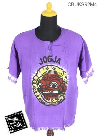 Kaos Batik Motif Barong Jogja