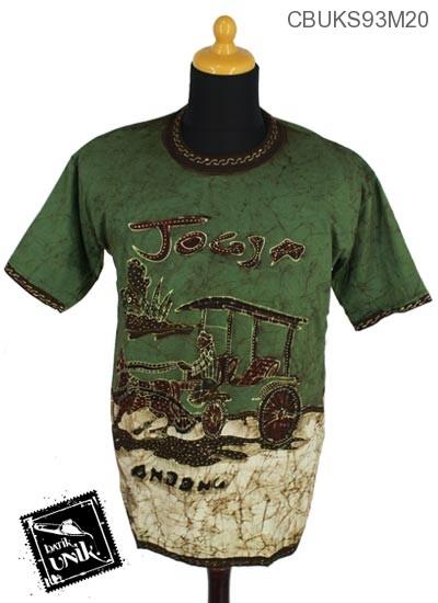 Kaos Batik Pekalongan Motif JT Doeloe