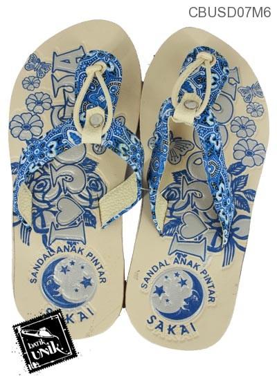 Sandal Batik Jogja Jepit Sendok Tali Anak