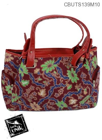 Tas Prada Motif Campuran Batik Warna