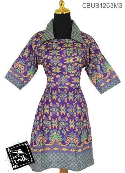 Dress Batik Motif Songket X Tumpal