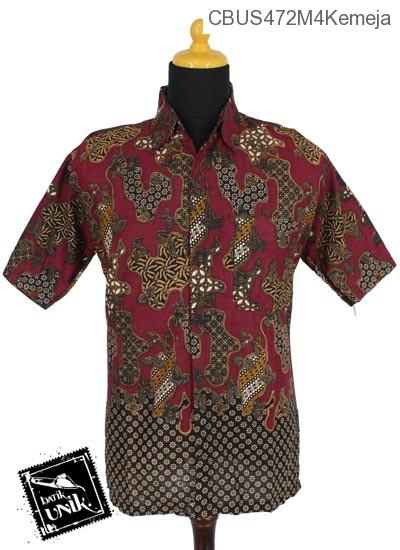 Baju Batik Sarimbit Blus Pekalongan Motif Sekar Jagad Tumpal