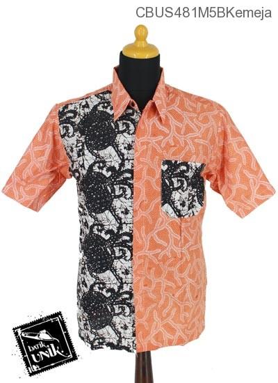 Baju Batik Sarimbit Blus Katun Motif Bintang Lugut Sogan
