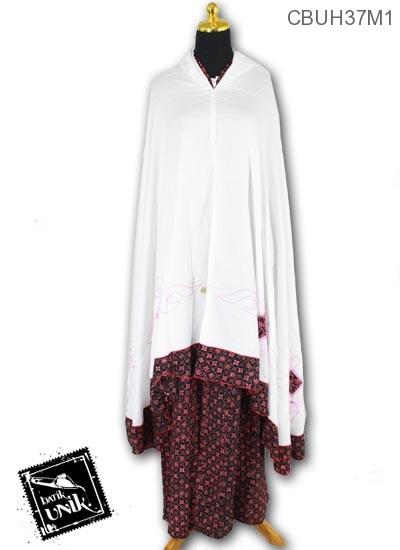Mukena Batik Motif Teruntum Ganggong
