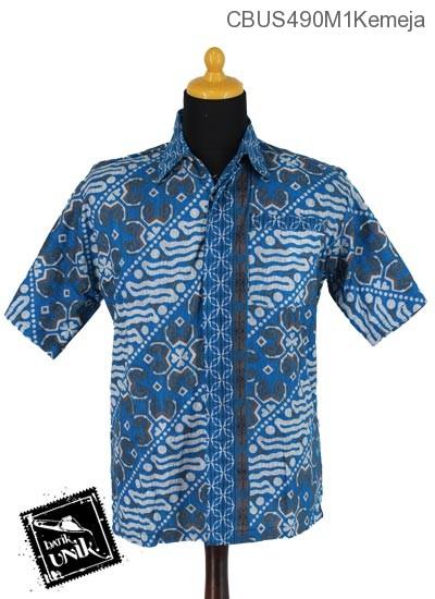 Baju Batik Sarimbit Blus Katun Motif Parang Sriwedari