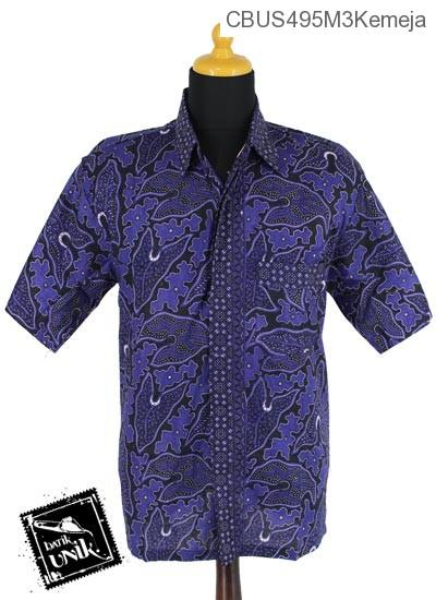 Baju Batik Sarimbit Blus Motif Lombong Wadas