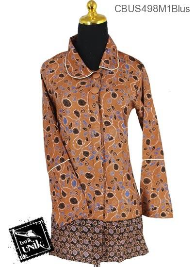 Baju Batik Sarimbit Blus Motif Frambos Regolan