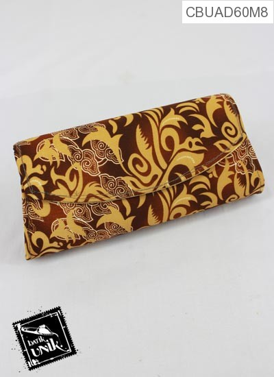 Dompet Batik Magnet Slop Motif Batik Kontemporer Alus