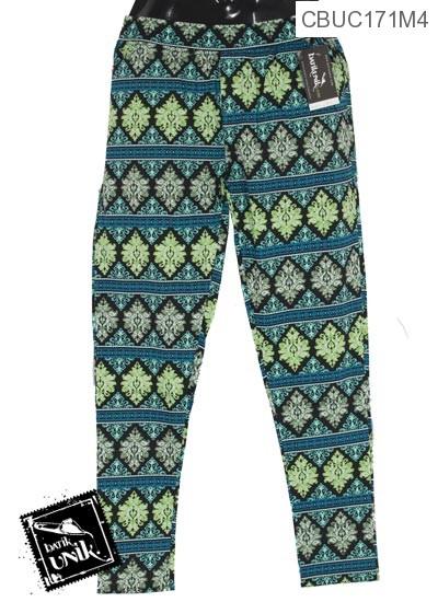 Celana Stretch Motif Banji Bordir