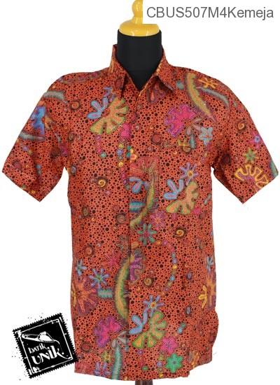 Baju Batik Sarimbit Gamis Pekalongan Motif Buble Alas Polkadot