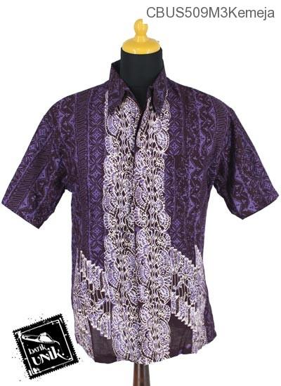 Baju Batik Sarimbit Kemeja Pekalongan Motif Riti Riti Kipas