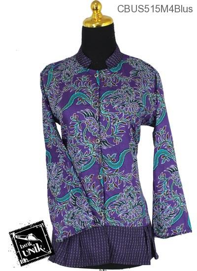Baju Batik Sarimbit Blus Motif Lung Pakis