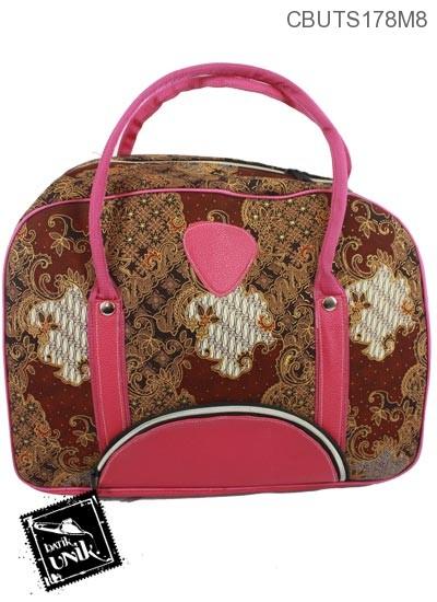Tas Travel Batik Motif Campuran Etnik Kalem