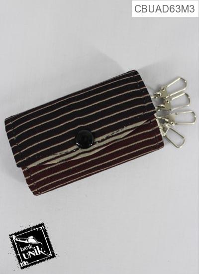 Gantungan Kunci Dompet Motif Batik Kontemporer Duo