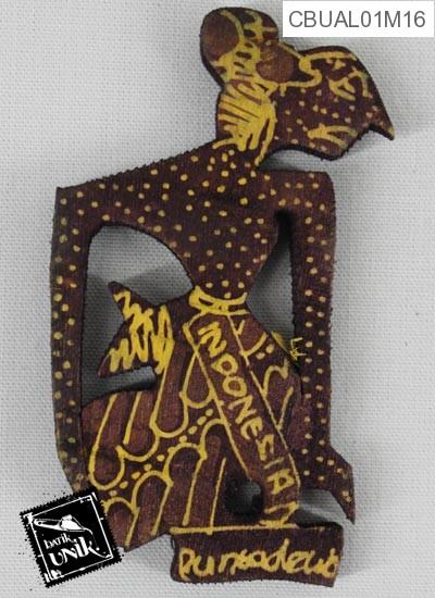 Magnet Wayang Motif Batik
