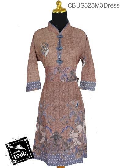 Sarimbit Dress Motif Lung Petik Galaran