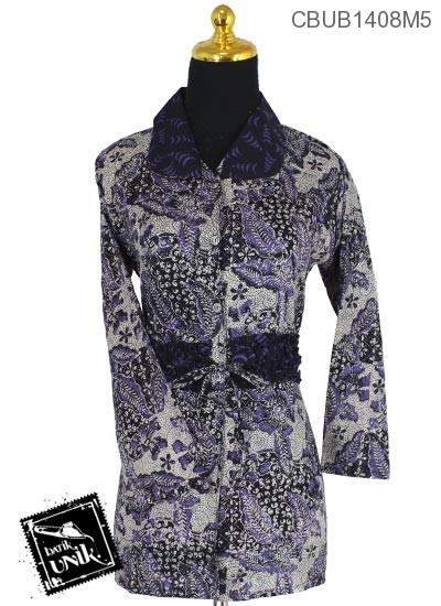 Blus Batik Panjang Motif Semen Kurung