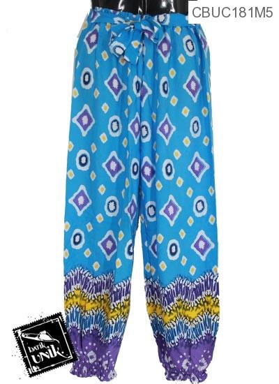 Celana Aladin Tali Motif  Persegi Anyam