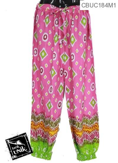 Celana Aladin Jumbo Tali Motif  Persegi Anyam