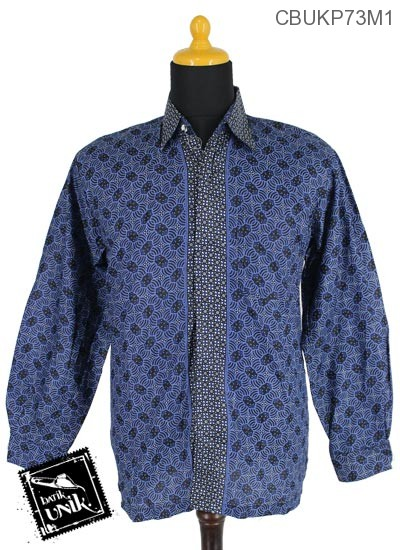 Baju Batik Terbaru  Kemeja Panjang Katun Motif Almod Truntum