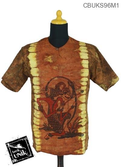 Kaos Batik Terbaru  Pekalongan Motif Etnik Lulang