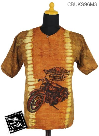 Kaos Batik Pekalongan Motif Etnik Lulang