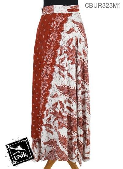 Rok Batik Terbaru  Lilit Panjang Motif Harum Sari