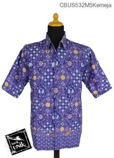 Baju Batik Sarimbit Blus Motif Ganggong Jubin