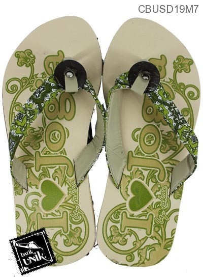 Sandal Batik Tali Kancing Batok