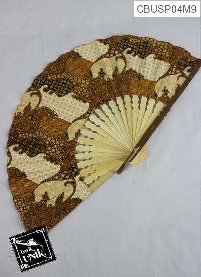 Souvenir Kipas Batik Besar