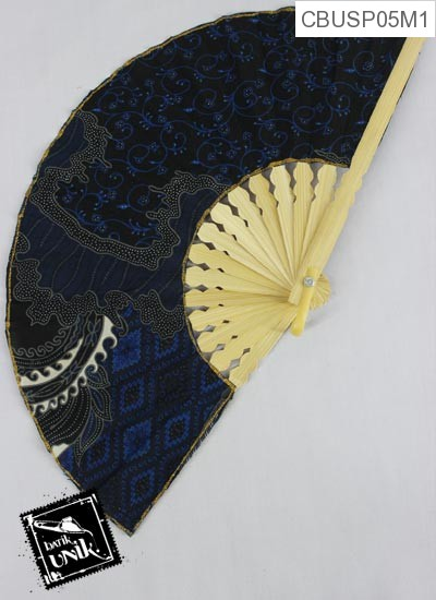 Souvenir Kipas Batik Terbaru  Sedang