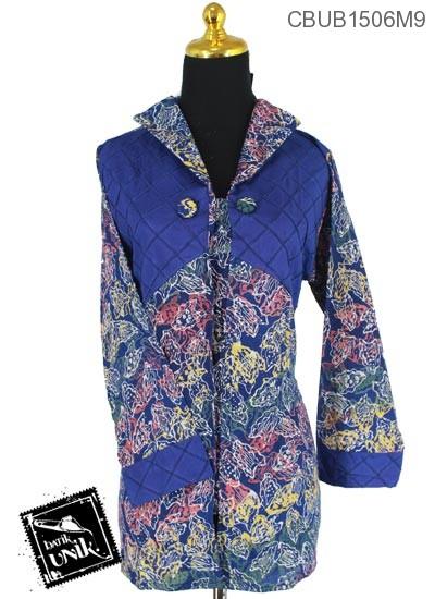Blus Batik Panjang Motif Kotemporer Lanjaran