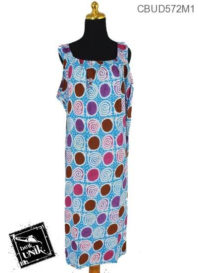 Baju Batik Terbaru  Daster Jumbo Motif Spiral Ceplok
