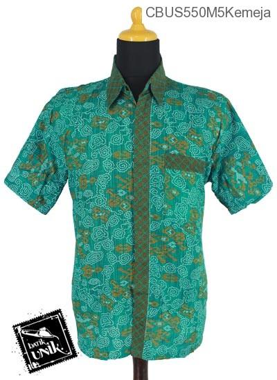Baju Batik Sarimbit Kemeja Katun Motif Wadas Grombol Etnik