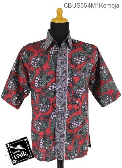 Baju Batik Sarimbit Kemeja Pekalongan Motif Kerang Ceplok