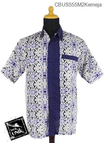 Baju Batik Sarimbit Kemeja Katun Motif Asmad Klawik