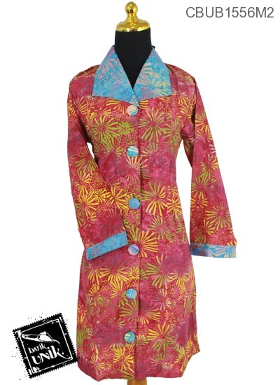 Dress Maya Motif Kembang Api