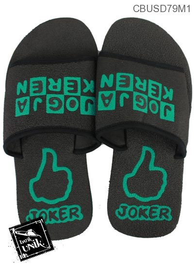 Sandal Selop Joker Hitam