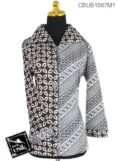 Blus Batik Terbaru  Panjang Motif Klasik Etnik