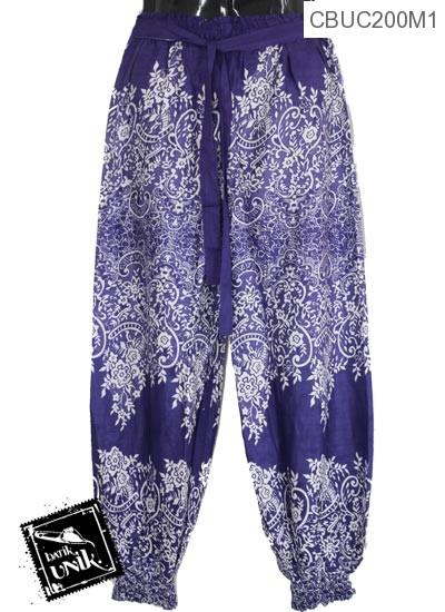 Celana Aladin Tali Motif Godhong Tumpal
