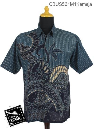 Baju Batik Terbaru  Sarimbit Kemeja Motif Kletekan Bunder