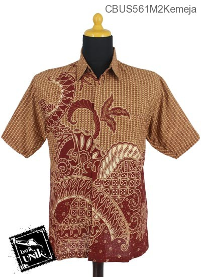 Baju Batik Sarimbit Kemeja Motif Kletekan Bunder