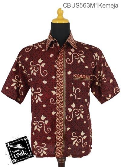 Baju Batik Terbaru  Sarimbit Kemeja Motif Lumping Alas Ceplok