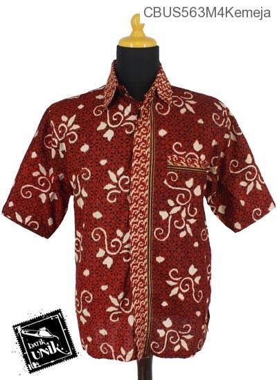 Baju Batik Sarimbit Kemeja Motif Lumping Alas Ceplok