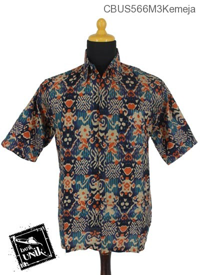 Baju Batik Sarimbit Kemeja Motif Salur Songket