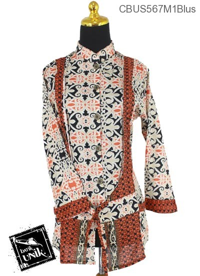 Baju Batik Terbaru  Sarimbit Blus Motif Asmad Jengking