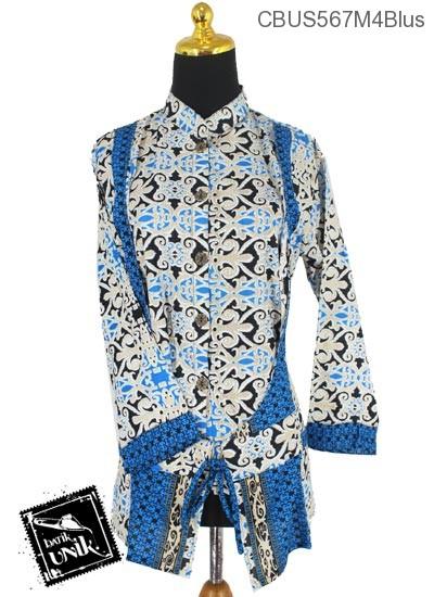 Baju Batik Sarimbit Blus Motif Asmad Jengking