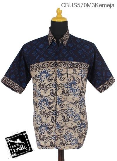Baju Batik Sarimbit Kemeja Motif Kotemporer Alas