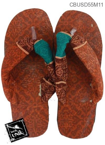 Sandal Batik Oshin Motif Batik Kotemporer Unik