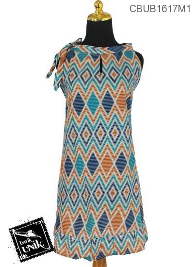 Dress Tali Motif Rang Rang Tumpuk